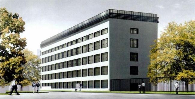 Реконструкция производственного комплекса Института травматологии ©  ООО «Сенаб Проект»