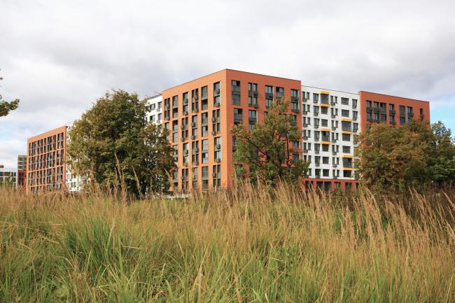 Жилой район «Северный», первая очередь, 2015, в процессе строительства © ДНК аг