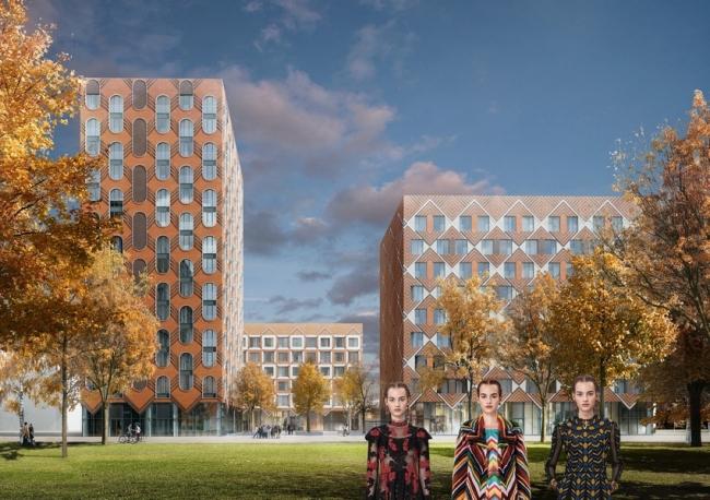 Жилой комплекс ЗИЛАРТ (лот №5) © Архитектурное бюро «Цимайло Ляшенко & Партнеры»