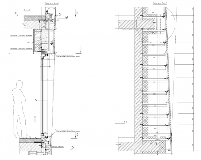Жилой комплекс ЗИЛАРТ (лот №5). Монтаж навесного фасада на примере «Садовых кварталов» © Архитектурное бюро «Цимайло Ляшенко & Партнеры»