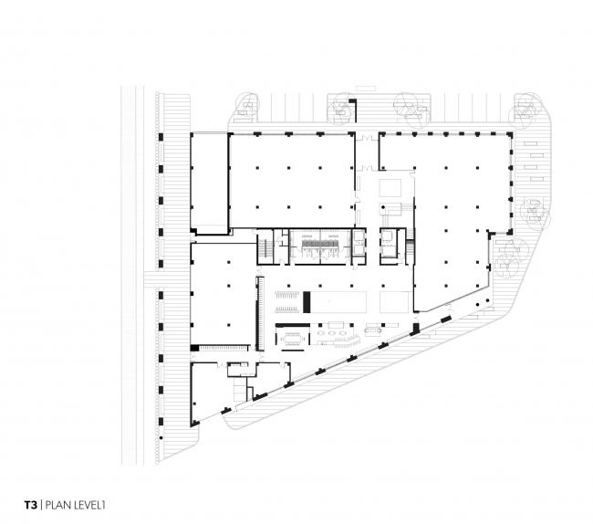 Офисное здание T3 © Michael Green Architecture