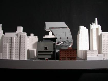 Рем Колхас. Новое крыло Музея американского искусства Уитни. Проект. 2001