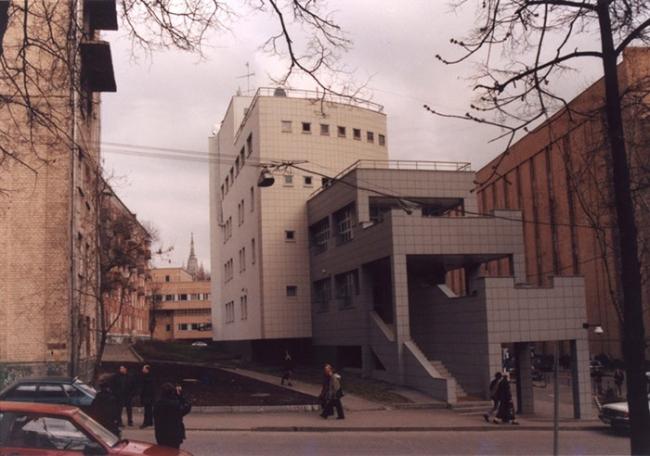Административное здание на Рочдельской улице © Мастерская Бориса Шабунина