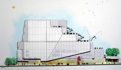 Музей американского искусства Уитни – новое здание © RPBW
