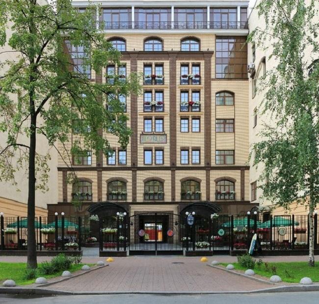 Отель «Наш отель». Фотография с сайта www.piter-otel.ru