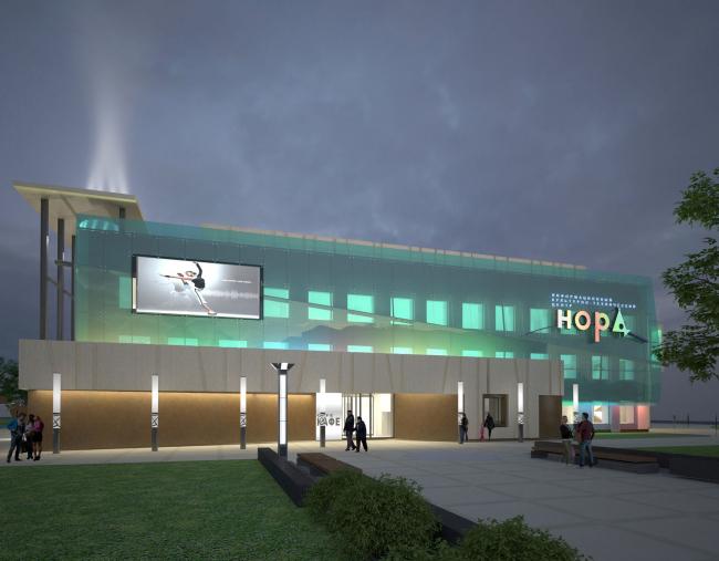 Реконструкция здания ИКТЦ «НОРД» © АО «Сити-Арх»