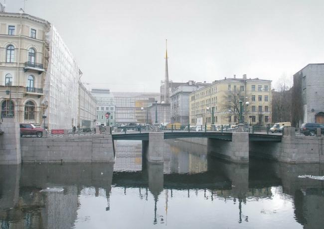 Конкурсный проект нового здания (второй сцены) Государственного Академического Мариинского Театра