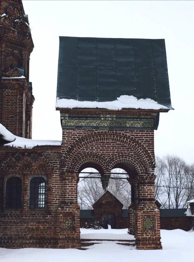Церковь Иоанна Златоуста в Коровниках. Ярославль, середина XVII века. Фотография © nps tchoban voss
