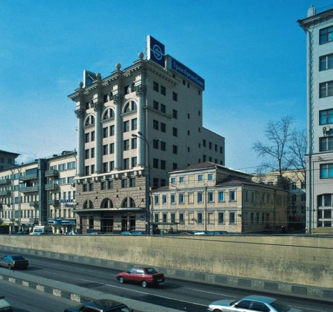 Банк на Новинском бульваре © «Моспроект-2», 5-я мастерская