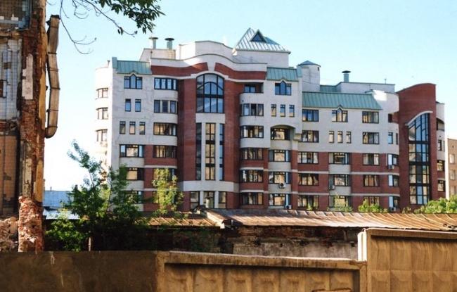 Жилой дом в Весковском переулке © Моспроект-1, Мастерская №22