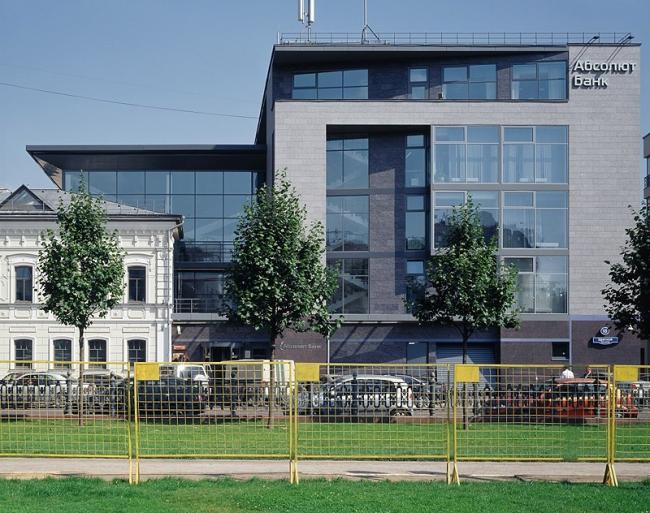 Банк «Абсолют» на Цветном бульваре. Фотографии © Юрий Пальмин, Владислав Ефимов