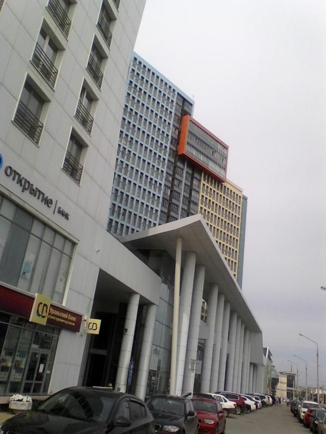 Пермь. Жилой комплекс «Виктория». Фото Лариса Малеванова