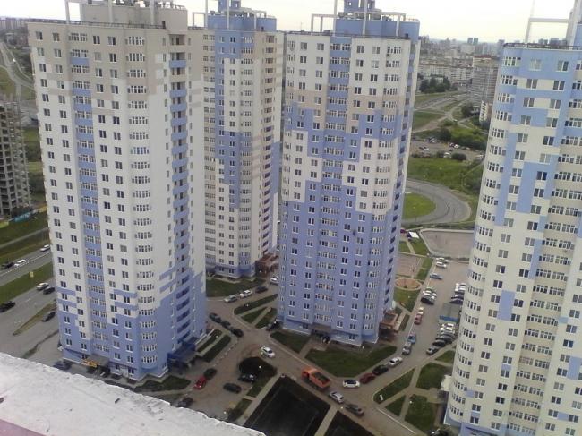 Пермь. Жилой комплекс  «Грибоедовский». Фото Лариса Малеванова