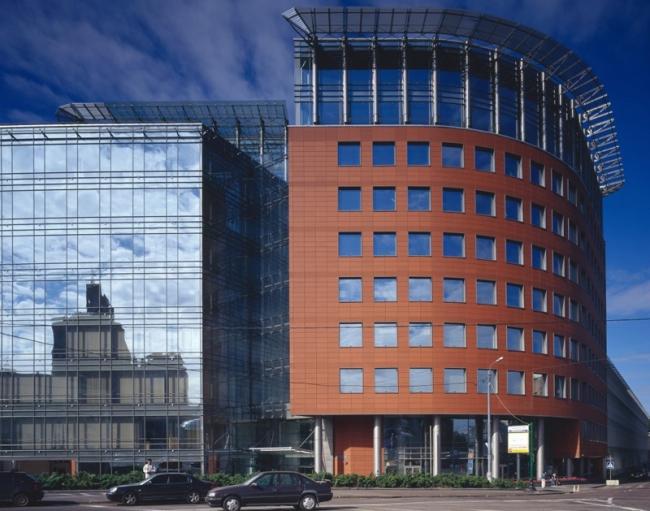 Административно-деловой центр на Садовнической улице («Аврора бизнес-парк»), 2 очередь. Фотография © Юрий Пальмин, Владислав Ефимов