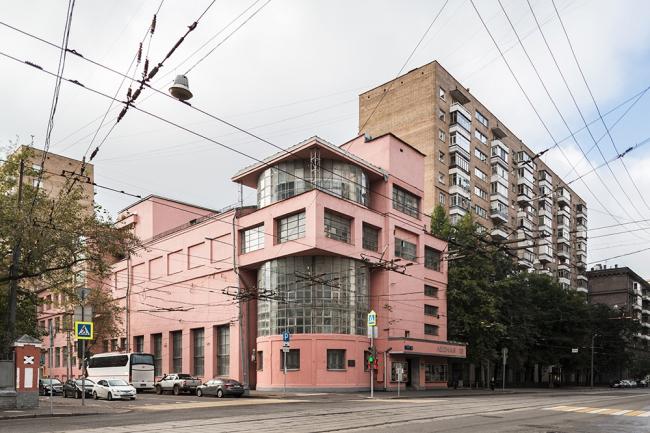 Клуб имени Зуева в Москве. Архитектор Илья Голосов ©  Roberto Conte  www.robertoconte.net