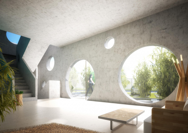 Вилла Y House © MVRDV