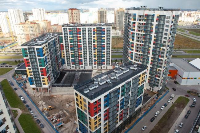 ЖК «Legenda» на ул. Оптиков. Фотография с сайта www.arch-skin.ru