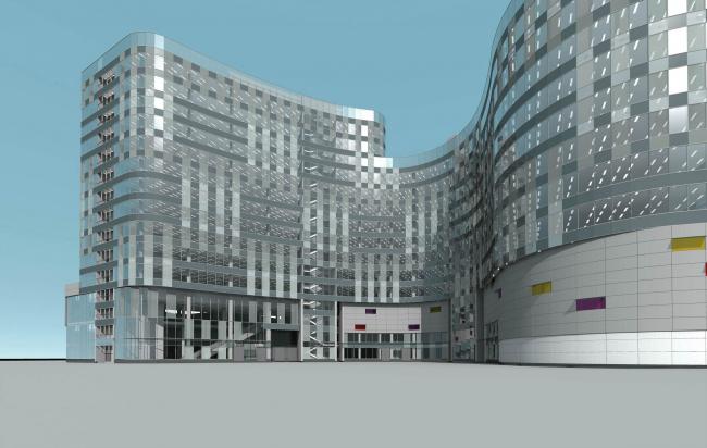 Комплекс зданий и сооружений «Медиа Центр». 5-ый корпус © ДНК аг