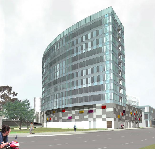 Комплекс зданий и сооружений «Медиа Центр». 8-ой корпус © ДНК аг
