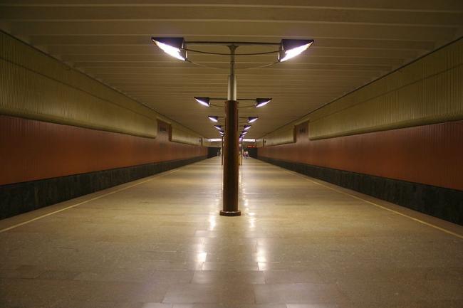 Станция «Волжская». Фото: A.Savin via Wikimedia Commons. Лицензия  Creative Commons Attribution-Share Alike 3.0 Unported