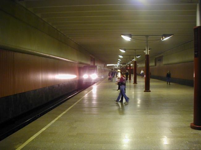 Станция «Волжская». Фото: Upliner via Wikimedia Commons. Лицензия  GNU Free Documentation License версии 1.2