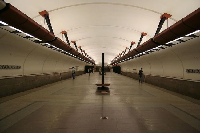 Станция «Кожуховская». Фото: A.Savin via Wikimedia Commons. Лицензия  CC BY-SA 3.0