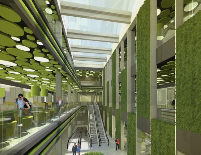 Торговый центр «Рига Молл» © ТПО «Резерв»