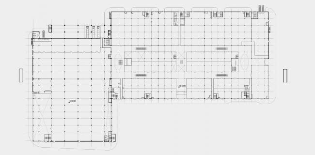 Торговый центр «Рига Молл». План 1-го этажа © ТПО «Резерв»
