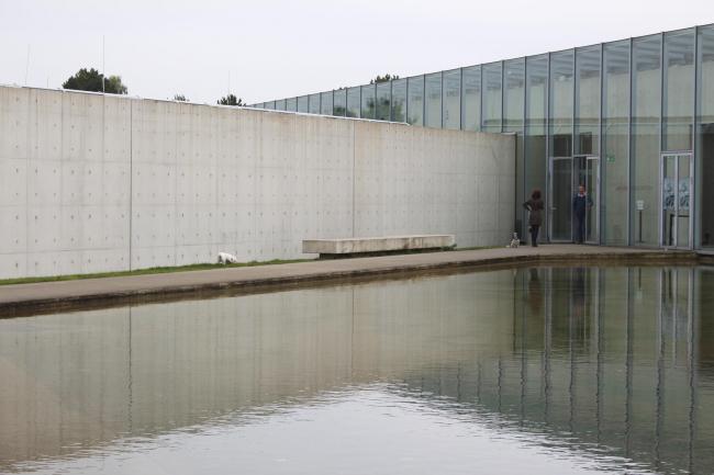Здание Фонда Ланген. Тадао Андо © Елизавета Клепанова