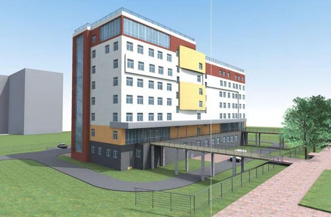 Поликлиника для детей и взрослых в Строгино. Проектировщик: ООО «СК НИРМАН»