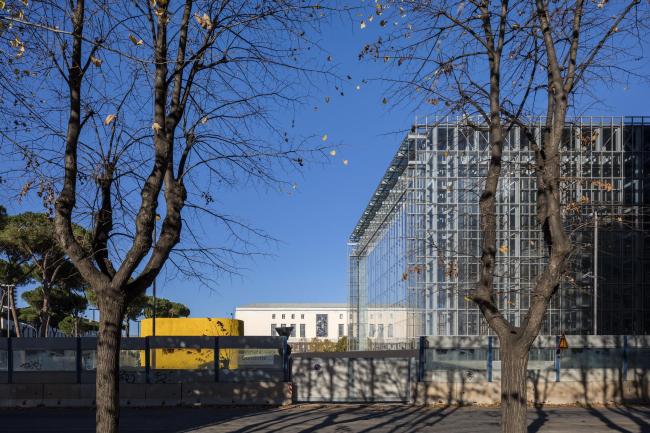 Новый конгресс-центр района EUR – «Облако» © Leonardo Finotti