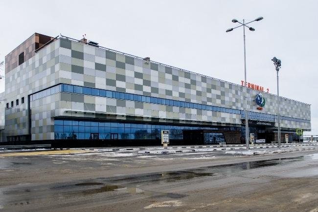 Уфа. Новый терминал международного аэропорта.