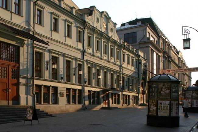 Реконструкция Камергерского переулка. Фотография © Николай Малинин