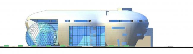 Центральный офис ЗАО «Балтийская жемчужина». Фасад © Архитектурная мастерская Цыцина
