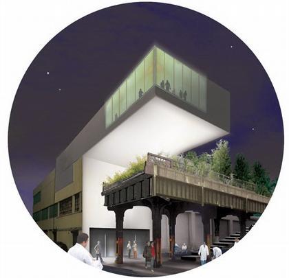 Группа TerraGRAM. Конкурсный проект парка Хай-Лайн