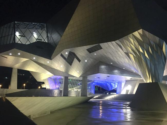 Музей Конфлуанс. Лион, Франция. Фотография © Антон Надточий