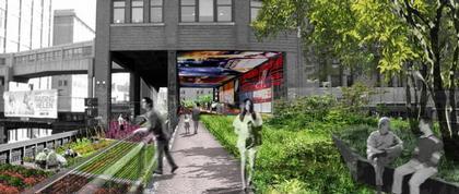 Стивен Холл, Hargreaves Associates и HNTB. Конкурсный проект парка Хай-Лайн