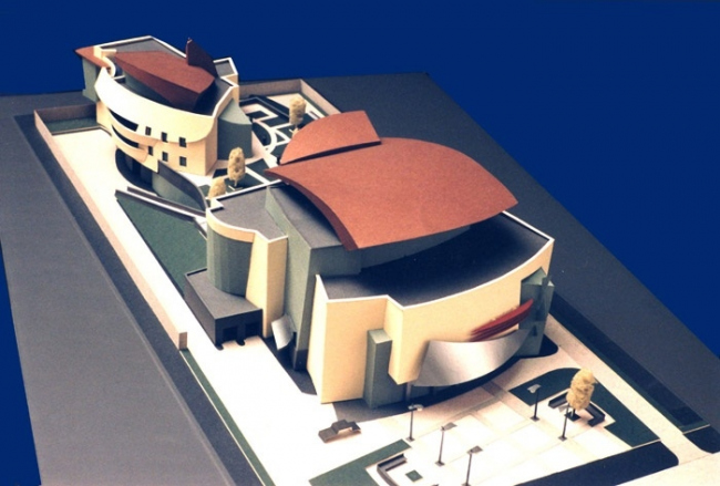 Культурный центр «Московит». Макет © Проектная организация: фирма «АРС» ЗАО «Моспромстрой»