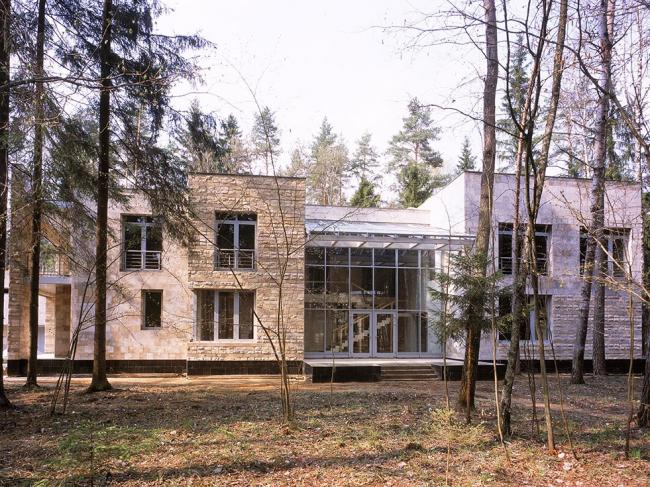 Коттеджи «Сосны-7» © Гинзбург Архитектс