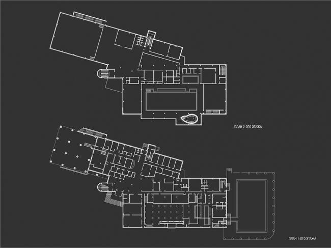 Cпортивно-оздоровительный комплекс  «Кунцево» © Гинзбург Архитектс