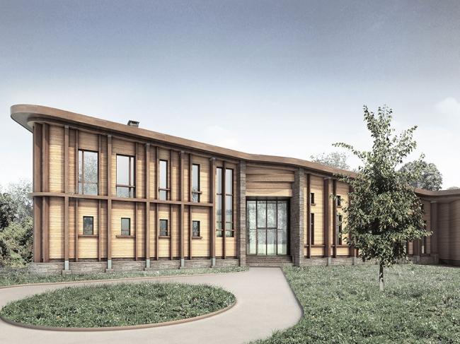 Частный жилой дом в поселке Малеевка © Гинзбург Архитектс