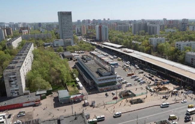 Автовокзал на Щелковском шоссе. Существующее положение © Werner Sobek