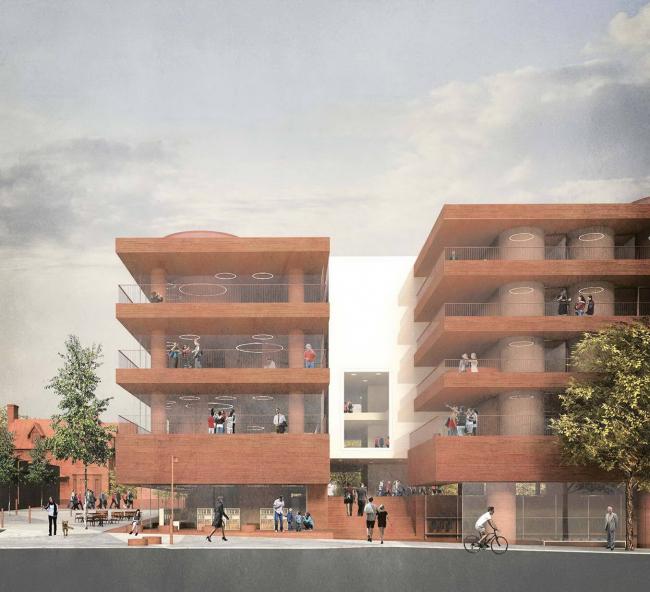 Новый корпус Галлодетского университета © Gallaudet University / Malcolm Reading Consultants / Hall McKnight
