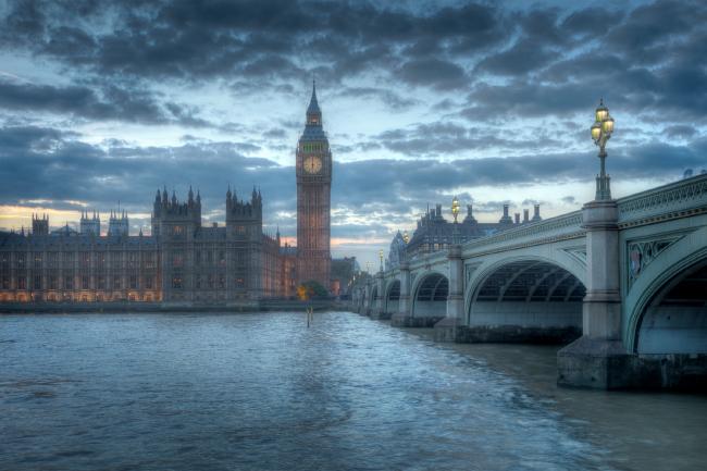 Биг-Бен и Вестминстерский дворец, Лондон © Rod Edwards