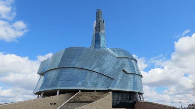 Канадский музей прав человека. Фото:  Robert Linsdell via Flickr.com. Лицензия  Attribution 2.0 Generic (CC BY 2.0)