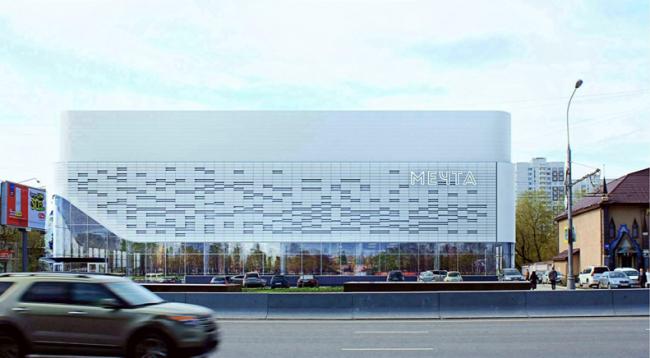 Реконструкция кинотеатра «Мечта» © ООО «Хоумленд»