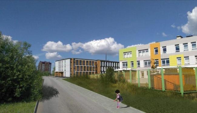 Начальная школа на Воротынской улице © Моспроект-3