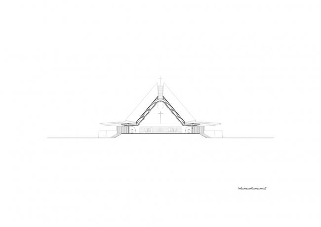Собор Пресвятого Сердца в Керичо © John McAslan + Partners