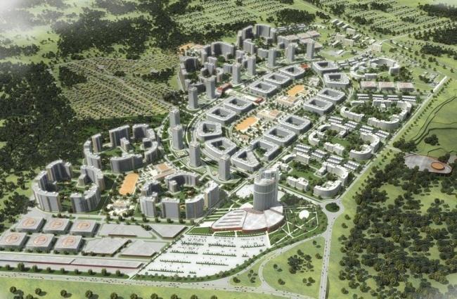 Жилой район «Светлый город» © Архитектурная мастерская Цыцина