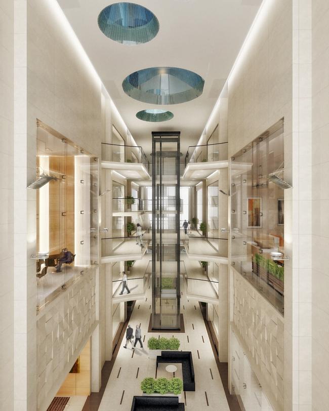 Ingria Tower © Архитектурная мастерская Цыцина